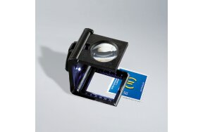 FOLDING MAGNIFIER 5x WITH LED